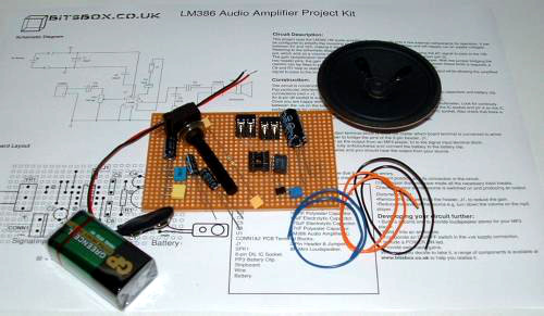 Mono Amplifier Kit 1W