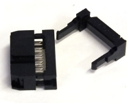 10-Way Ribbon Cable Mount Skt