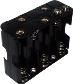 10xAA Battery Holder
