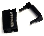 20-Way Ribbon Cable Mount Skt