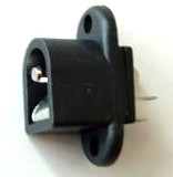 2.1mm Switched Panel Mount DC Power Socket