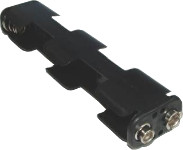 4xAA Battery Holder long