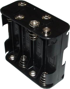 8xAA Battery Holder