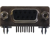 9-Way PCB Mount Socket