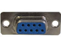9-Way Chassis/Shell Mount Socket