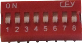 10-Way DIP Switch