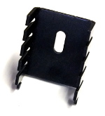 TO220 Heatsink with Location Lugs - Click Image to Close