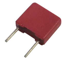 Polyester Box Capacitors 5mm Pitch 220nF 63V Packs 10