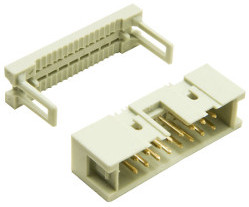 16-Way Ribbon Cable Mount Plug