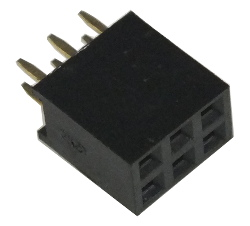 3+3 Double Row Socket