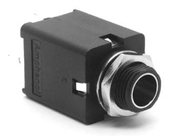 6.35mm Enclosed Mono Jack Socket