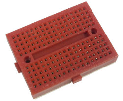 Solderless Prototyping Breadboard 170 - Red