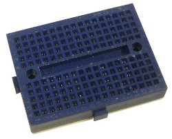 Solderless Prototyping Breadboard 170 - Blue
