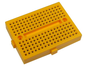 Solderless Prototyping Breadboard 170 - Yellow