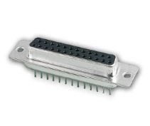 25-Way PCB Socket Straight