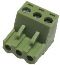 3-Way Plug-In Terminal Block Free Plug