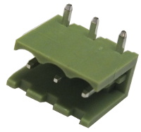 3-Way Plug-In Terminal Block Header