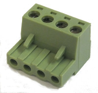 4-Way Plug-In Terminal Block Free Plug