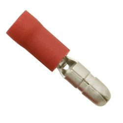 Red Bullet Terminal 4mm