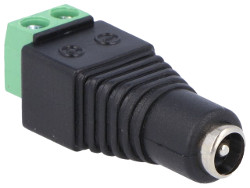 2.1mm DC Power Socket to Screw Terminal Adaptor
