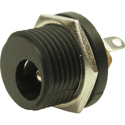 2.1mm DC Chassis Socket Front Nut