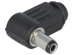 2.5mm Right Angled DC Power Plug