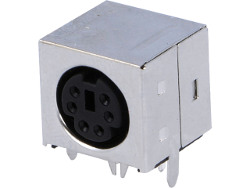6-Pin mini-DIN Socket