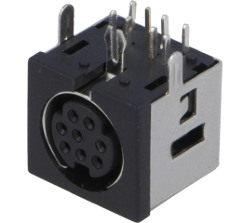 8-Pin mini-DIN Socket