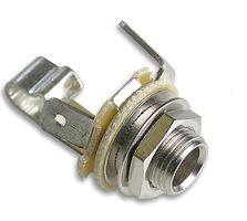 Neutrik 6.35mm Mono Open Jack Socket