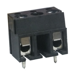 2-Way 10mm PCB Mount Terminal Block