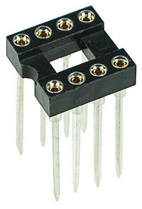 8-Pin Wire Wrap DIL Socket 0.3