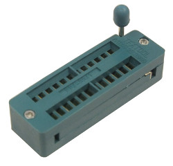 18-Pin ZIF Socket 0.3