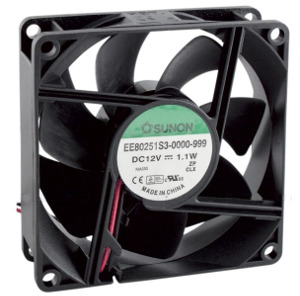 Sunon EE80251S3 80x80x25mm 12V Axial Fan