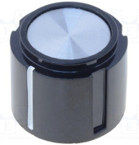 20mm Aluminium Inlay Knob