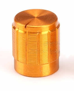 13mm Budget Gold Aluminium Alloy Knob