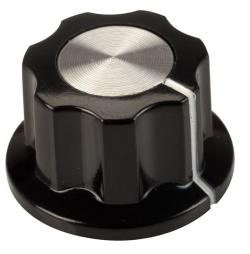 Budget 23mm Boss-style Control Knob