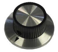 23mm Aluminium Inlay Arrow Knob