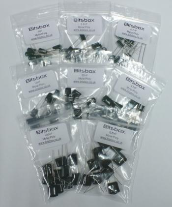 Mylar Polyester Capacitor Kit