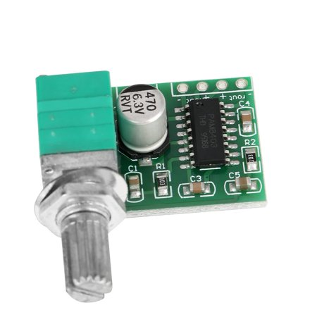 3W+3W Stereo Amp Module with Control Pot
