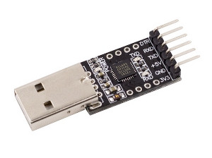 CP2102 6-pin USB Plug to TTL Serial