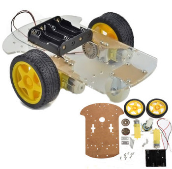 Robot Buggy Chassis Assembly Kit