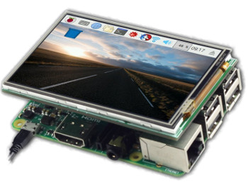 3.5 inch TFT LCD with Touch for RPI