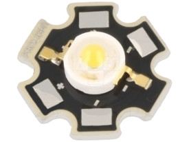 3W Power LED Cold White