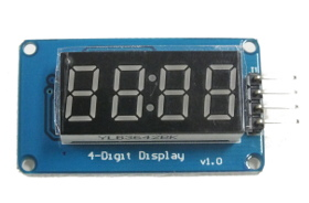 4-Digit 7-Segment Module with Colon