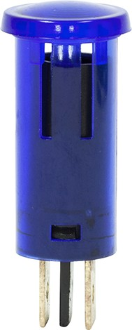 Blue Filament Lamp Panel Indicator