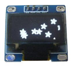 Blue OLED Display 128x64 0.96""