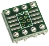 8 Pin SOIC/TSSOP to DIP8 Adaptor