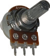 500K Reverse Log Potentiometer 16mm