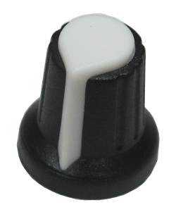 Budget Potentiometer Knob White