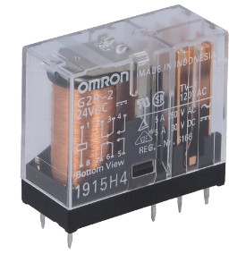 6Vdc DPDT Mains Power Relay Omron G2R-2-6DC